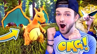 The hunt for CHARIZARD - CAN WE GET HIM??? - (Pokemon 3D Ark #9)