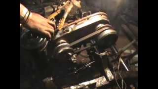 bajaj 3 wheel stering autorikshaw, cvt testing