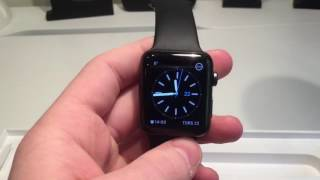 Unboxing Apple Watch Series 2 Space Gray Aluminum 42 mm