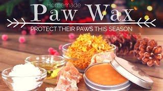 DIY Paw Wax