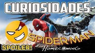 Curiosidades de SPIDER-MAN: HOMECOMING (Con SPOILERS) | #spidermanhomecoming #Mefe
