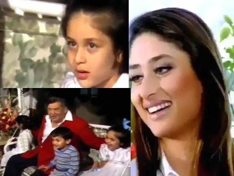 HEBOH Beredar  Video Masa Kecil Kareena Kapoor dan Ranbir