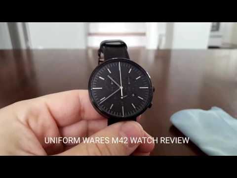 Uniform wares M42 watch review
