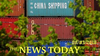 China Plans Tariffs On $60 Billion Of U.S. Goods In Latest Trade Salvo | News Today | 08/03/201...