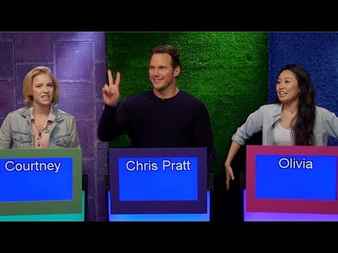 CHRIS PRATT is on our Game Show