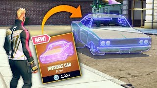 CRAZY INVISIBLE CAR..!!! | Fortnite Funny and Best Moments Ep. 183 (Fortnite Battle Royale)