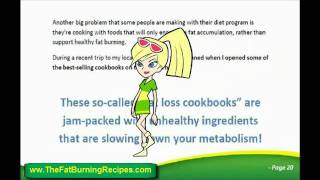 Download Free Fat Burning Weight Loss Recipes eBook