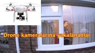 Drone Kameralarına Yakalanan İlginç Görüntüler ve Garip İnsanlar