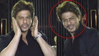 Shah Rukh Khan FUNNY Antics At Wife Gauri's Restaurant Launch