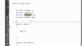 Java Tutorial 11: GUI in Java, JFrame, JPanel, JButton, JLabel
