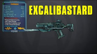 Borderlands The Presequel: Excalibastard Legendary Laser Guide!! (+Review!)
