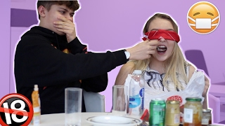 ♡ EXTREME Guy Vs. Girl What's In My Mouth Challenge *PERIOD PAD* ♡