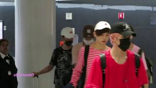 170623 NCT127 arriving at JFK airport for #KCONNY17