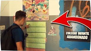 ✔ Visitando COLEGIO ABANDONADO INFANTIL ! - Exploracion Urbana Lugares Abandonados en España