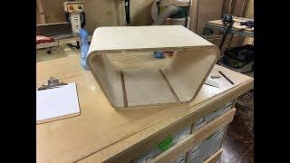 Kerf Bend Plywood with Festool TS55/MFT