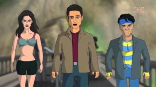 Funny Cartoon Dhoom 3 movie spoof shudh desi endings