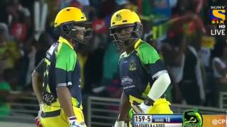Shakib Al Hasan 34 runs from just 17 balls in CPL T20 2016