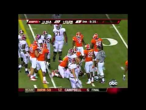 2008 Chick Fil A Kickoff Game 24 Alabama vs. 9 Clemson Highlights