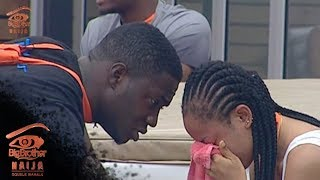 Big Brother Double Wahala Day 3: Nina cries for Miracle