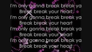 Break Your Heart Lyrics-Taio Cruz ft. Ludacris