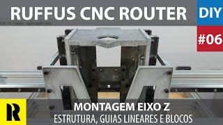 PRO CNC Caseira com Arduino - Montagem Eixo Z (Ruffus DIY)
