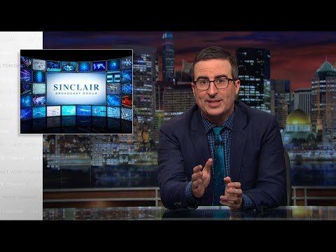 Sinclair Broadcast Group Last Week Tonight with John Oliver HBO