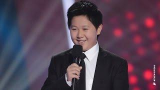 Shuan Sings Pie Jesu | The Voice Kids Australia 2014