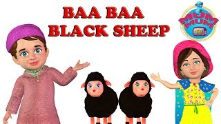 Baba Black Sheep have you any wool song with Lyrics | Nursery Rhymes Song for Babies | Mum Mum TV