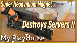 Super Neodymium Magnet Destroys Servers - 403