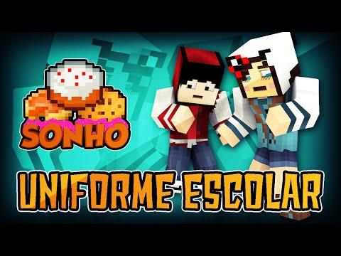 Minecraft O Sonho 65 Uniforme escolar