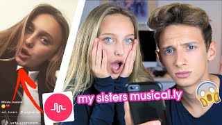 REACTING TO MY 13 YEAR OLD SISTERS CRINGEY MUSICAL.LYS | GeorgeMasonTV