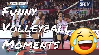 Funny Volleyball Moments😂😂