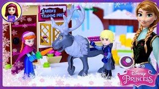 Lego Disney Princess Anna & Kristoff's Sleigh Adventure Build Review Silly Play - Kids Toys