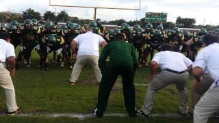University School Football 2014 vs Miami Norland