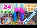 Download Video Download 24 HORAS EN UNA CASA DE JUGUETE DE PLÁSTICO | CASTILLO // YESLY 3GP MP4 FLV