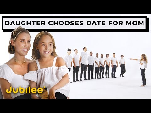 10 vs 1 Daughter Finds A Date For Her Mom