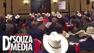 D'Souza Addresses Texas GOP Delegation At RNC