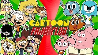 THE LOUD HOUSE vs WATTERSONS! (Lincoln Loud vs Gumball) (Nick vs Cartoon Network) CARTOON FIGHT CLUB