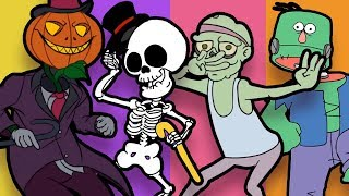 🎃 ♫ SPOOKY DANCE PARTY!! ♫ 🎃 - Animation Compilation