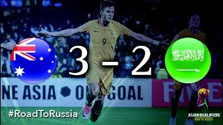 Australia vs Saudi Arabia (2018 FIFA World Cup Qualifiers)