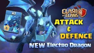 [ClashOfClans] ELECTRO DRAGON In-action/ Town hall 12 Electro Dragon