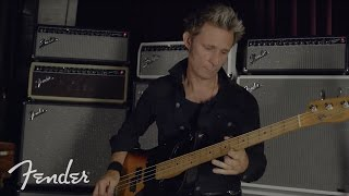Mike Dirnt On The Fender Bassman 800 Head | Fender