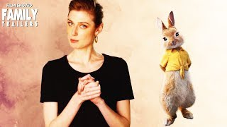"PETER RABBIT | Elizabeth Debicki  is ""Mopsy"" in the Live-Action animated movie"