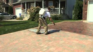 Techniseal: How to apply a water-based wet-look paver sealer