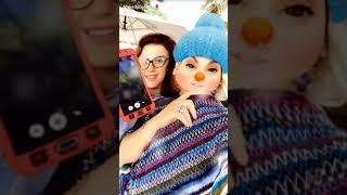 كواليس تصوير مسلسل مجنون فيكي مع الفراشة فيفو