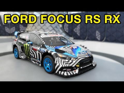 How to unlock the Ford Focus RS RX - Forza Horizon 3 Blizzard Mountain DLC