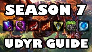 UDYR 101: A Comprehensive Beginner's Guide to Abilities, Builds, and Jungling [Season 7]
