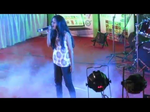 Indian Village Live Show - 15 year old Girl Rocking Stage
