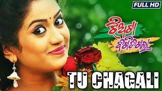 TU CHAGALI | Romantic Film Song I JHIATAA BIGIDI GALAA I Elina, Rudra, Mohit, Gudia