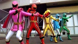 Power Rangers vs Evil Power Rangers (Power Rangers Mystic Force)